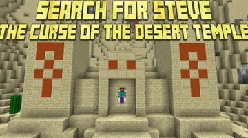 Search for Steve: The Curse of the Desert Temple Map