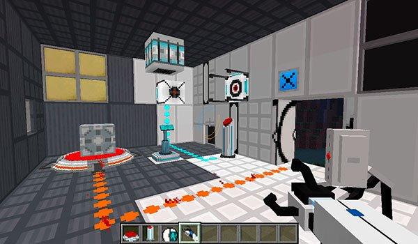 Portal Blocks Mod