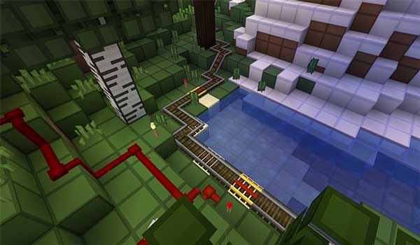 image where we can see how the design and color that the oCd texture pack will offer us.