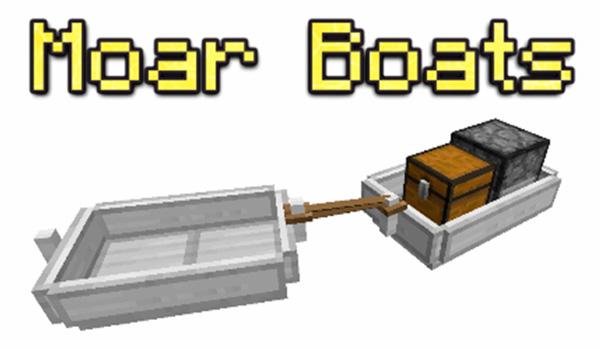 Moar Boats Mod