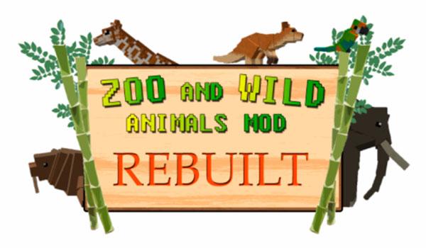 Zoo & Wild Animals Mod