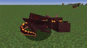 Dragon Mounts: Legacy Mod