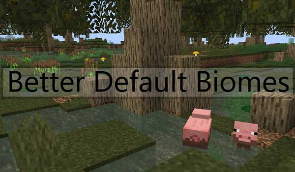 Better Default Biomes Mod