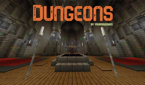 Dungeons Map