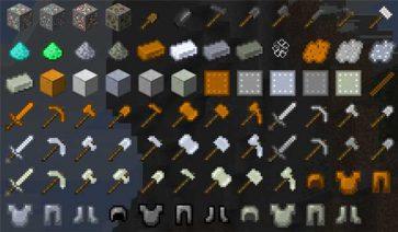 Easy Steel & More Mod