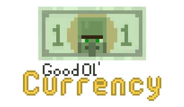 Good Ol' Currency Mod