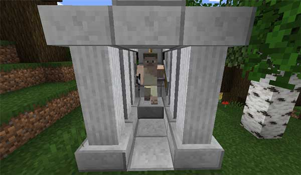 Image where we can see one of the structures that will be generated when installing the Greek Fantasy Mod.