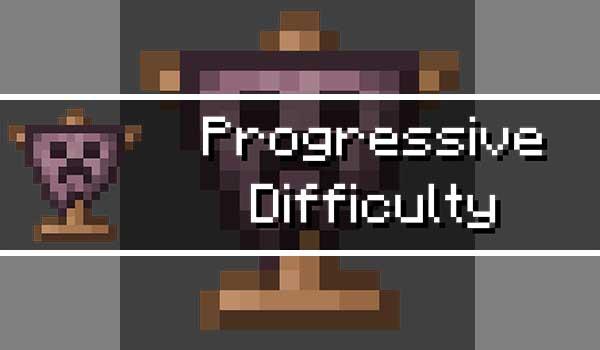 Majrusz's Progressive Difficulty Mod