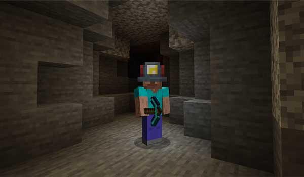 Miner's Helmet Mod