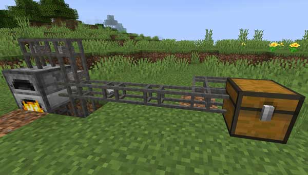 Image where we can see how are the new pipes that the Pretty Pipes Mod will offer us.