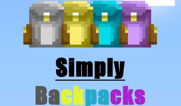 Simply Backpacks Mod