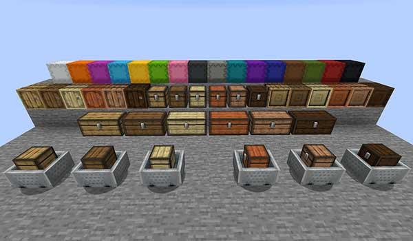 Storage Overhaul Mod