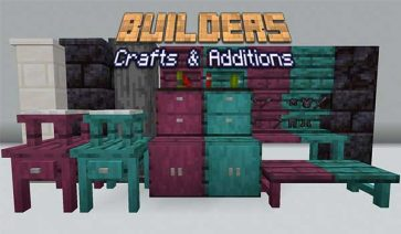 Builders Crafts & Additions Mod