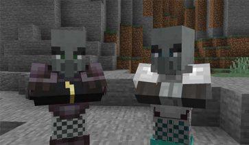 Illagers Wear Armor Mod