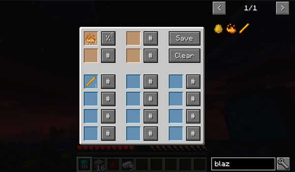 Image where we can see in action one of the various calculators offered by the Just Enough Calculation Mod.