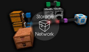 Simple Storage Network Mod