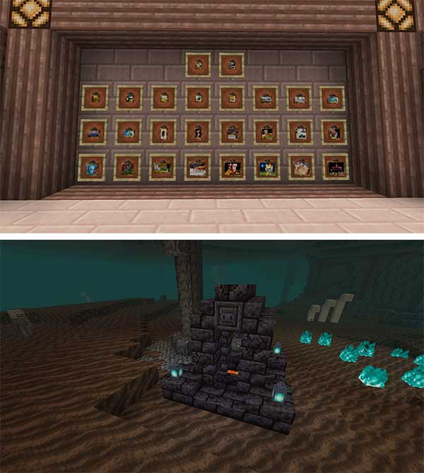 Image where we can see some of the new elements that we will find after installing the Vanilla Boom Mod.