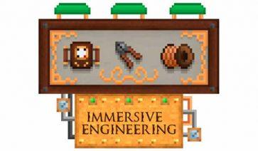 Immersive Engineering Mod