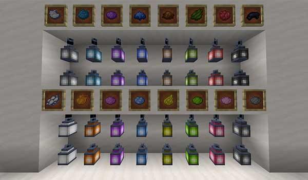 Lantern Colors Mod