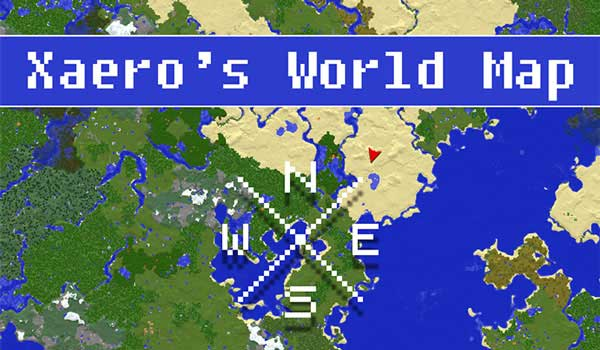 Xaero's World Map Mod